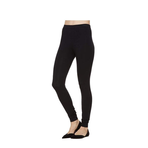 Full Length Black Legging - Pants Bottom