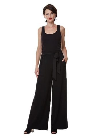Full Pant with Tie Belt - Pants Bottom