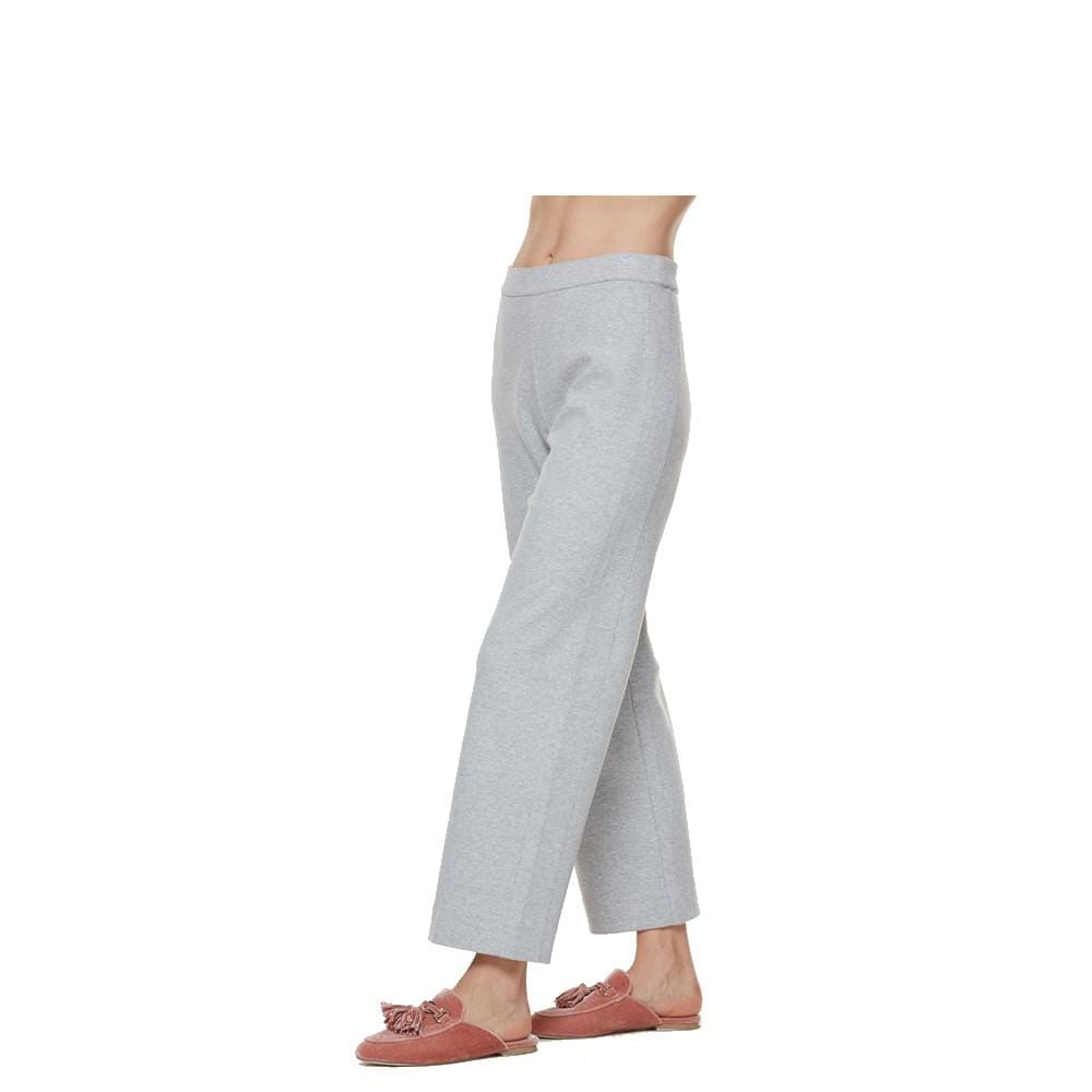 Heather Grey Ankle Pant - Cloud Heather - Pants Bottom