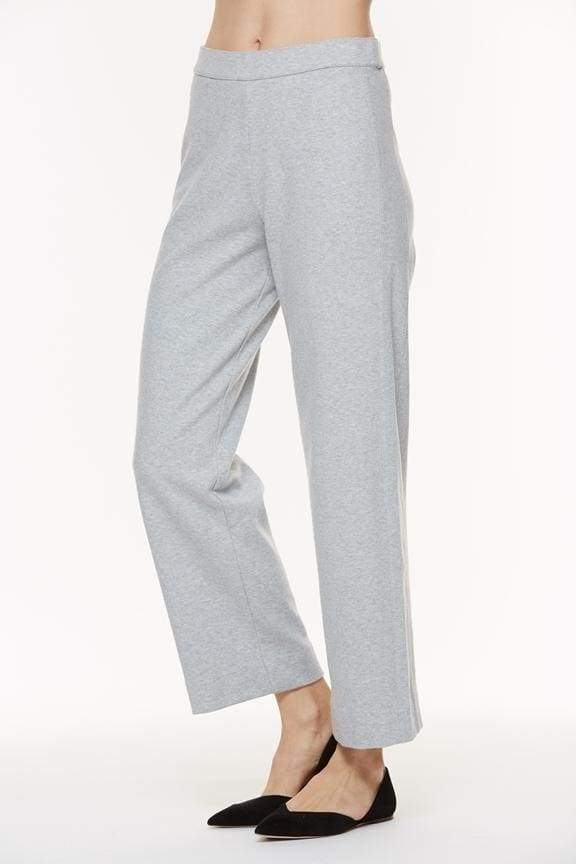 Heather Grey Ankle Pant - Pants Bottom