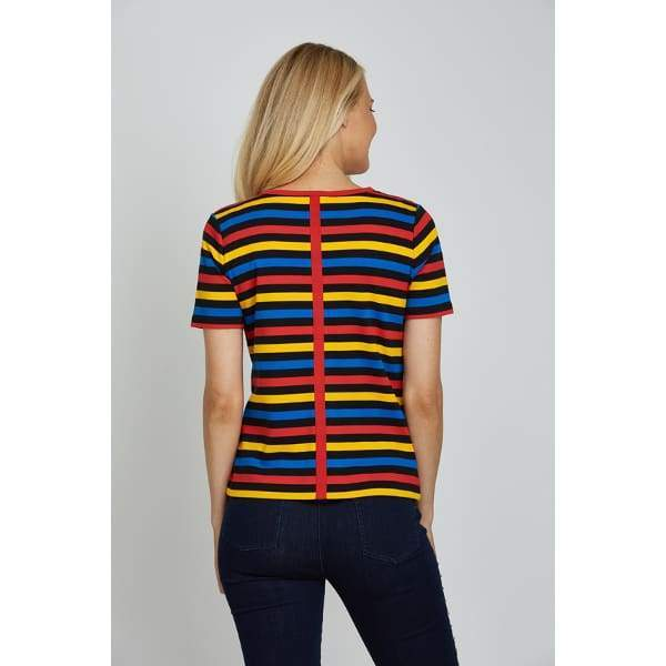 Multi Stripe Tee - Top