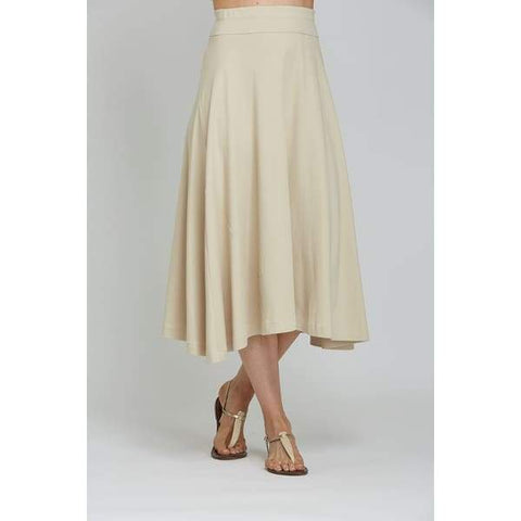 Natural Classic Skirt - Natural - Skirt Bottom