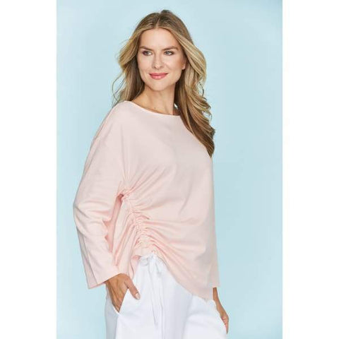 Rouched Pullover - Blossom - Top