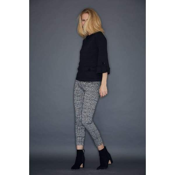 Plaid Slim Pant - Pants Bottom