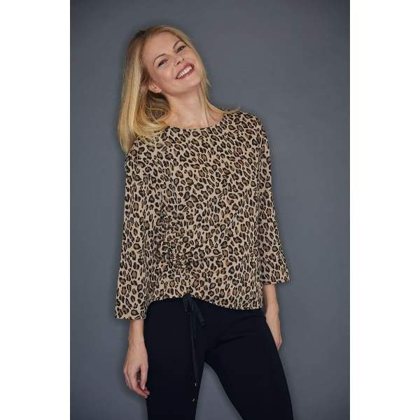 Rouched Animal Top - Animal - Top