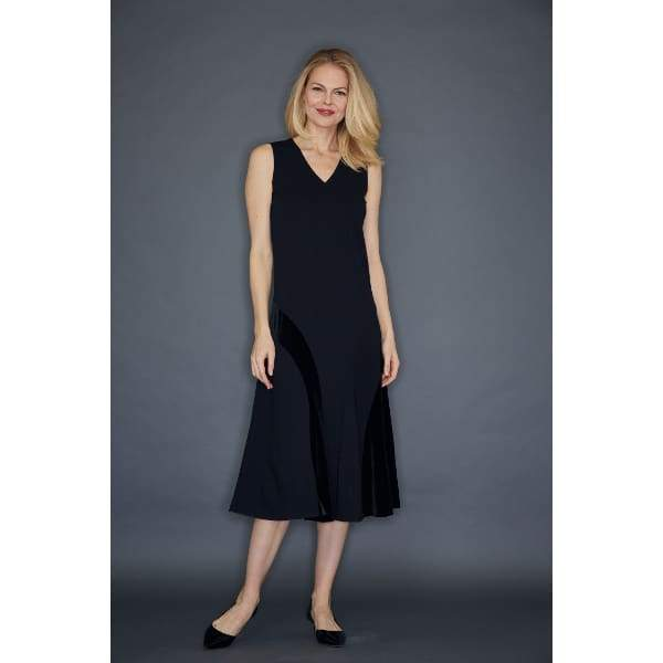 Sleeveless Dress - Black - Dress