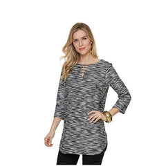 Tweed Tunic Top - Tweed - Top
