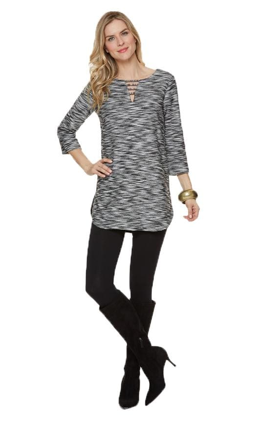 Tweed Tunic Top - Top