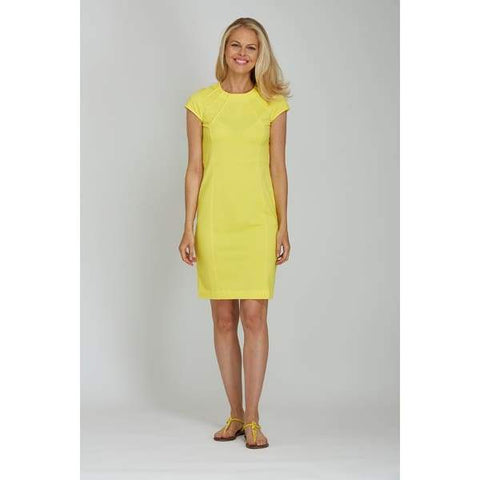 Yellow Casual Dress - Yellow - Dress
