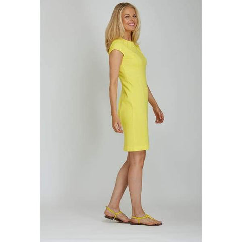 Yellow Casual Dress - Dress