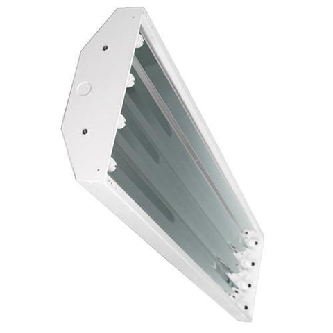 T5 4 Lamp HO High Bay Fluorescent Lighting Fixture