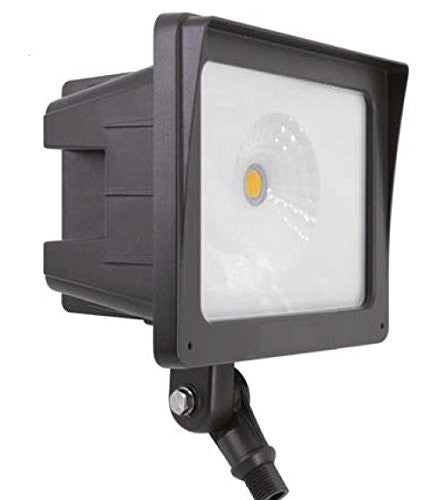 LED Flood Light Fixture, Cool White - 5000K