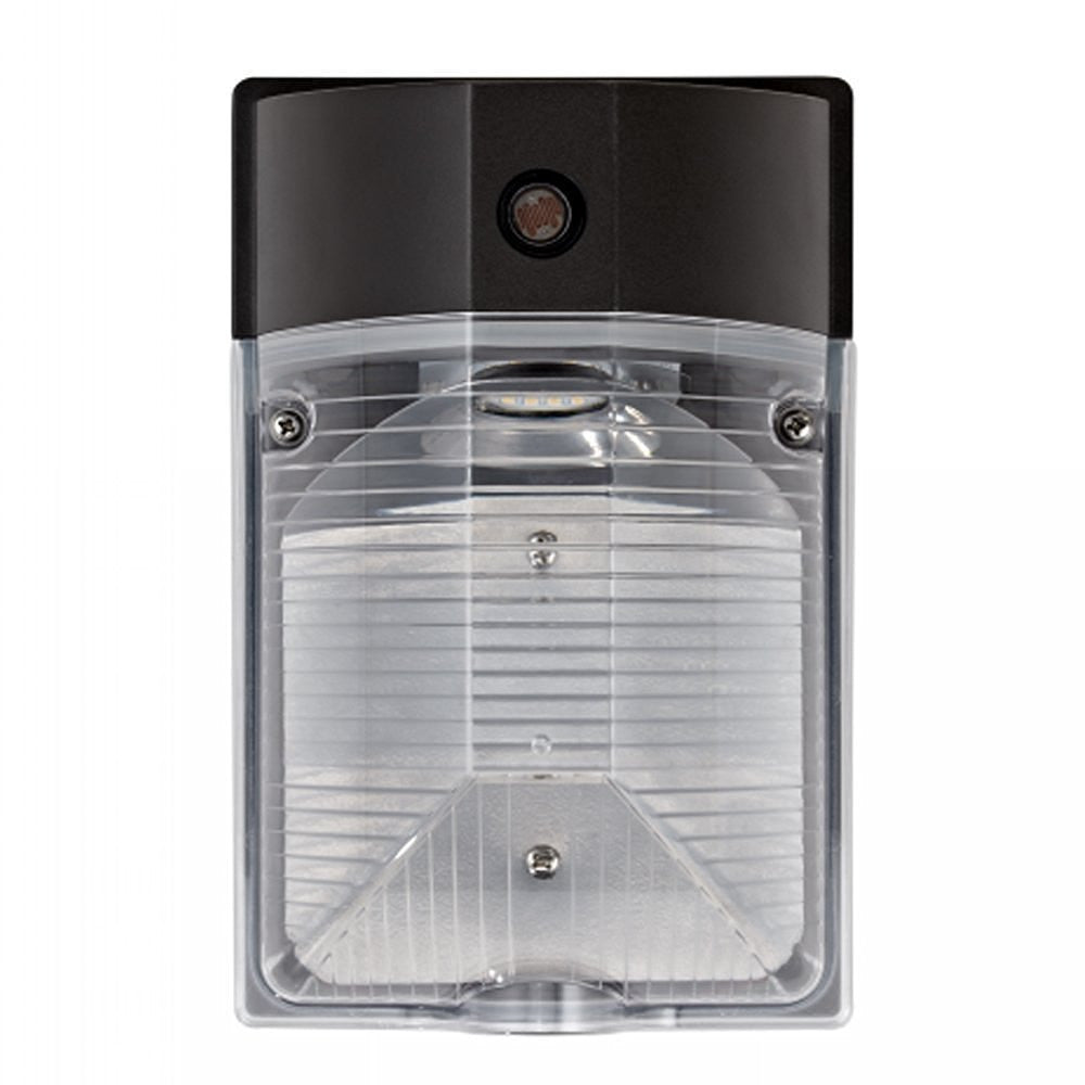 LED Mini Wall Pack Wall Light, with Photocell