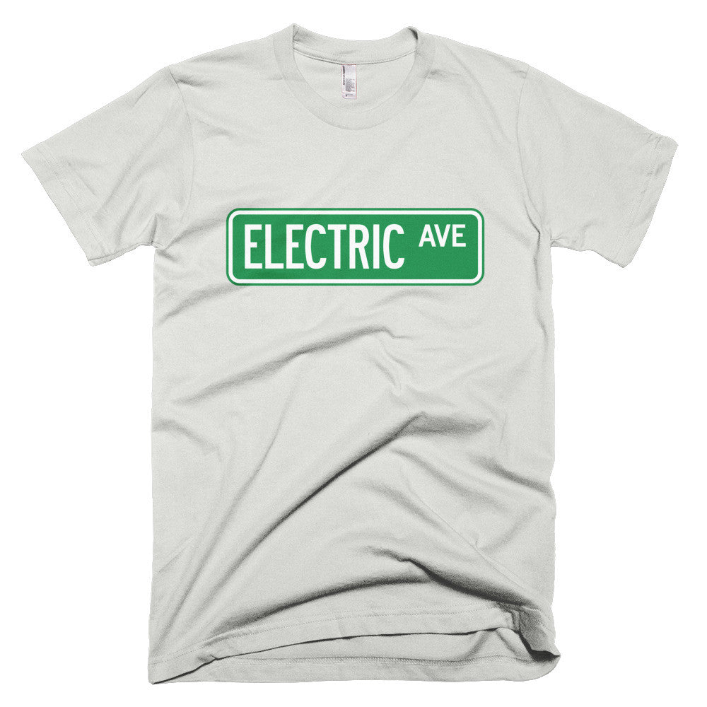 T-shirt Electric AVE- New Silver-recharge_résidentielle-boutique_ChargeHub-Québec_Canada