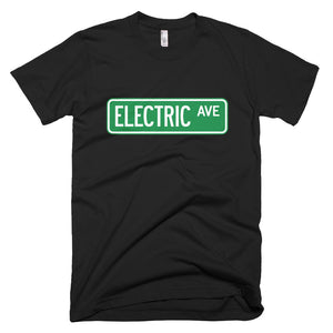 T-shirt Electric AVE- Black-recharge_résidentielle-boutique_ChargeHub-Québec_Canada