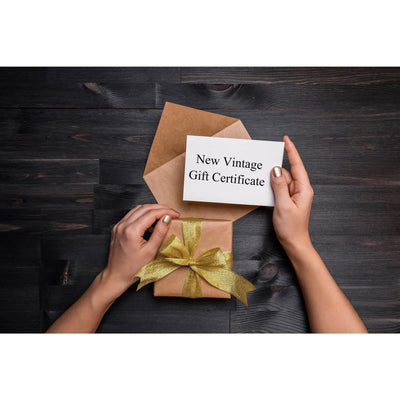 Gift Cards  by New Vintage