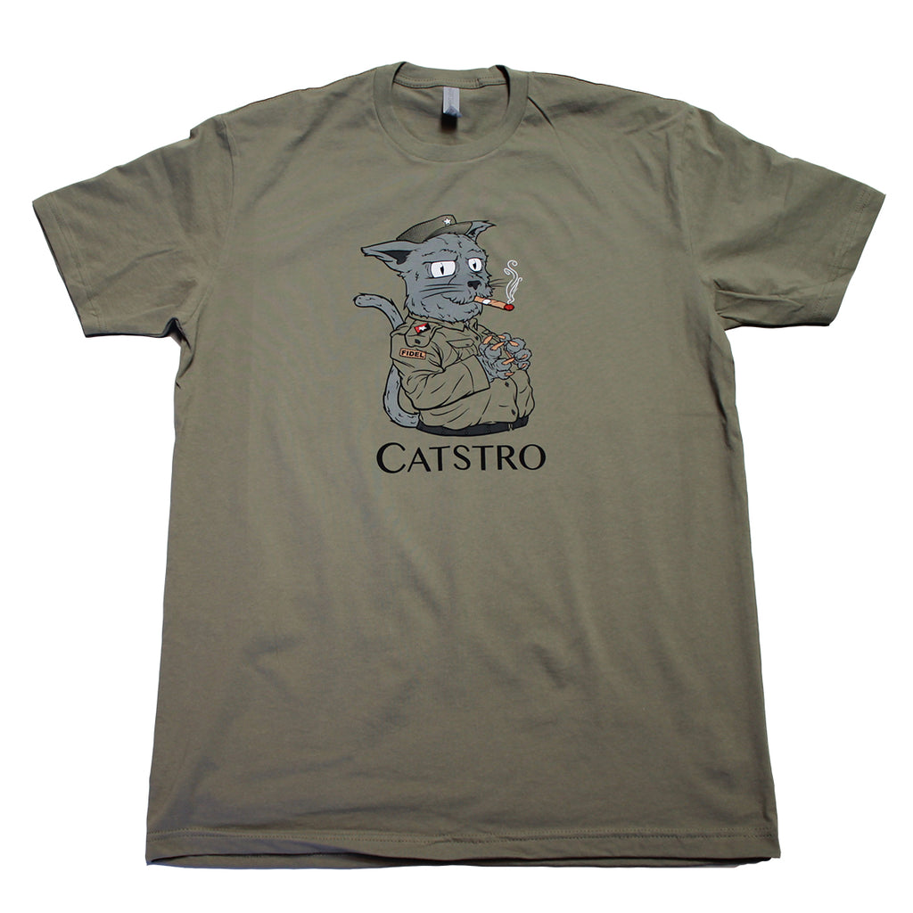 Fidel Catstro Funny Cat People Shirt