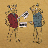 Kitty Kitty Bang Bang Double Cat Trouble Shirt