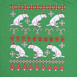 Scooty Dog: Funny Ugly Christmas Sweatshirt Dog Scooting on Floor Shirt
