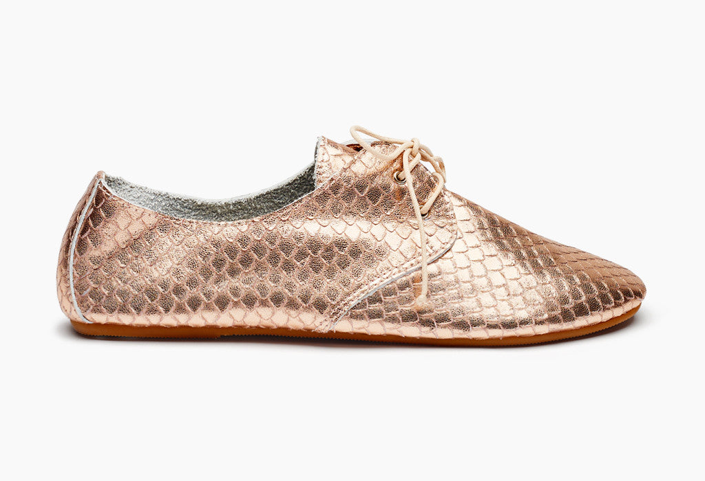 Women's Metallic Hobe Rose Gold
