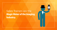 Are Sales Trainers in the Imaging Industry Selling Magic Water?