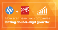 Every One of Your Customers Has an Account with CDW. Their Goal is to Displace You.