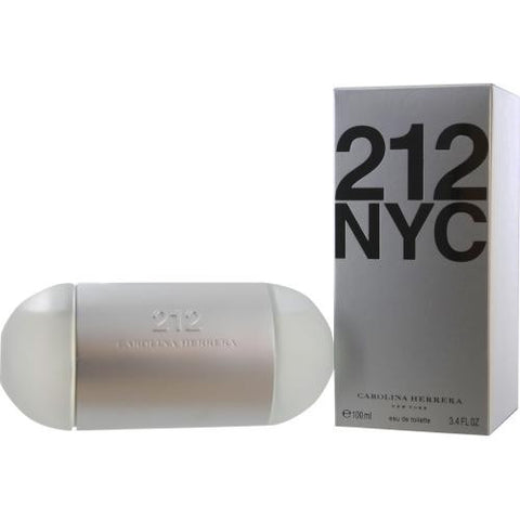 212 By Carolina Herrera Edt Spray 3.4 Oz