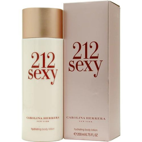 212 Sexy By Carolina Herrera Body Lotion 6.7 Oz