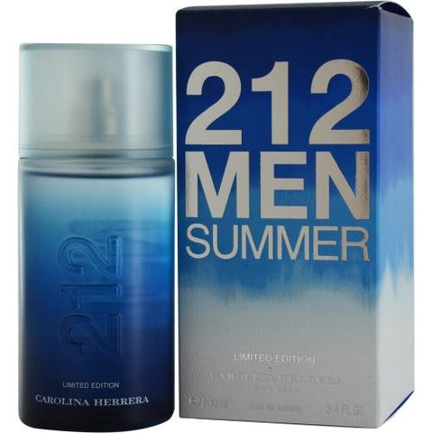 212 Summer By Carolina Herrera Edt Spray 3.4 Oz (limited Edition 2013)