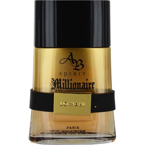 Ab Spirit Millionaire By Lomani Edt Spray 3.4 Oz *tester