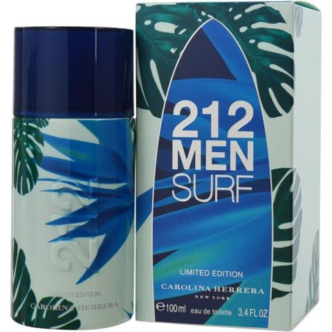 212 Surf By Carolina Herrera Edt Spray 3.4 Oz (limited Edition)