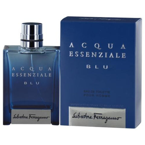 Acqua Essenziale Blu By Salvatore Ferragamo Edt Spray 3.4 Oz