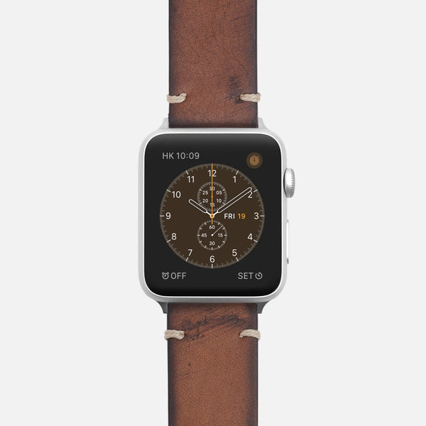 Vintage Leather Strap - Oak