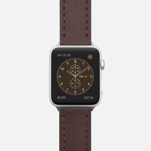 Natural Italian Leather Strap for Apple Watch