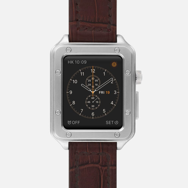 316L Stainless Steel Lux Case - Silver