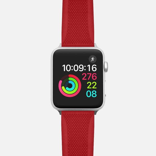 Rubber Sport Band - Red