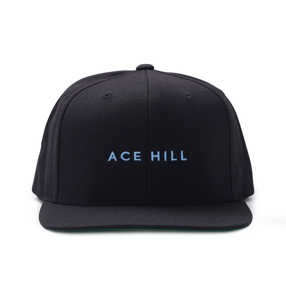 Black Hat with Blue Logo