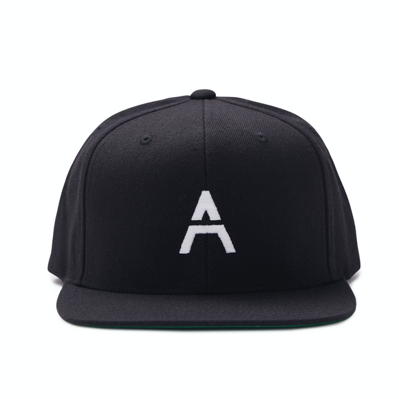 Black Hat with White Logo
