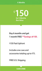 Dial n Style - 6 month Cellular Accessory membership