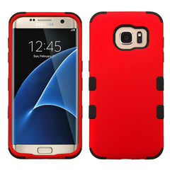 Samsung Galaxy S7 Edge Red Tuff case, Dial n Style