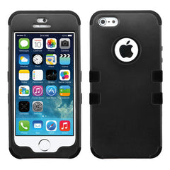 iPhone 5S-SE Black Tuff, Dial n Style