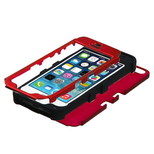 iPhone 5S-SE Red Tuff, Dial n Style
