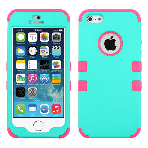 iPhone 5S-SE Teal Tuff, Dial n Style