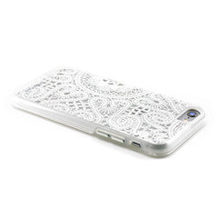 iPhone 6 Plus / 6S Plus lace White Cover by Prodigee, Dial-n-Style
