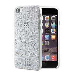 iPhone 6/6S Lace White Cover by Prodigee, Dial-n-Style