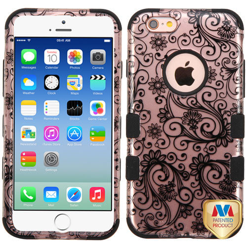 iPhone 6s Four Leaf Clover Rose Gold Case, Dial n Style
