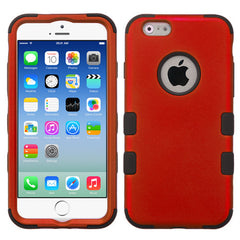 iPhone 6s Red Tuff case, Dial n Style