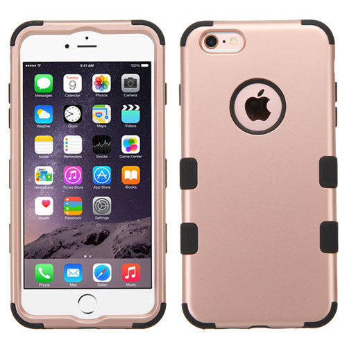 iPhone 6s Rose Gold Black case, Dial n Style