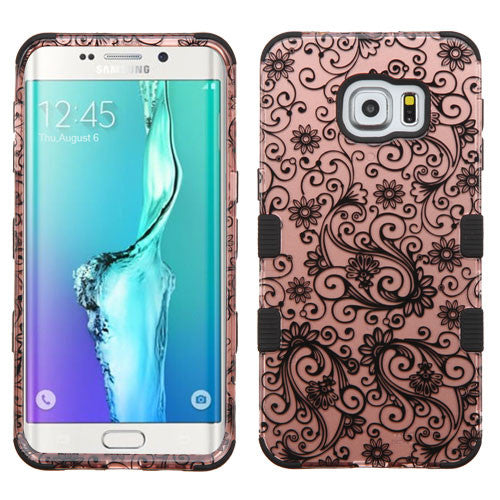Galaxy S6 Edge Plus Four Leaf Clover Rose Gold, Dial n Style