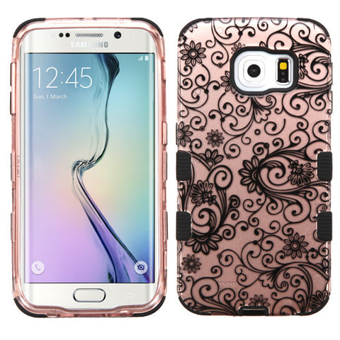 Galaxy S6 Edge Four Leaf Clover Rose Gold